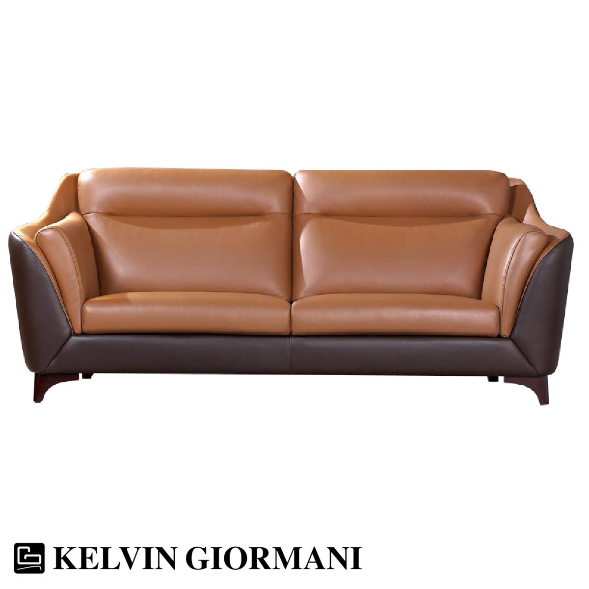 Scudo Leather Sofa
