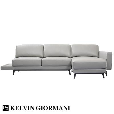 Greg Leather Sofa