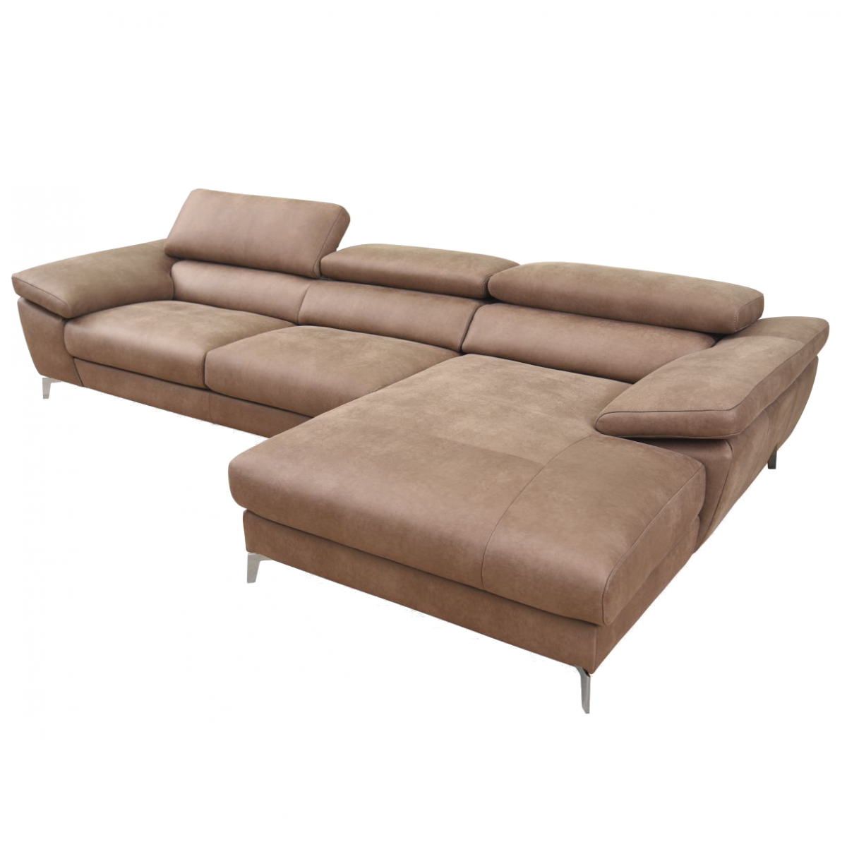 Yoshiki Leather Sofa