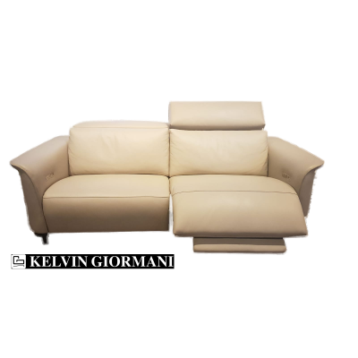 Estende 3-Seater Leather Motorized Recliner