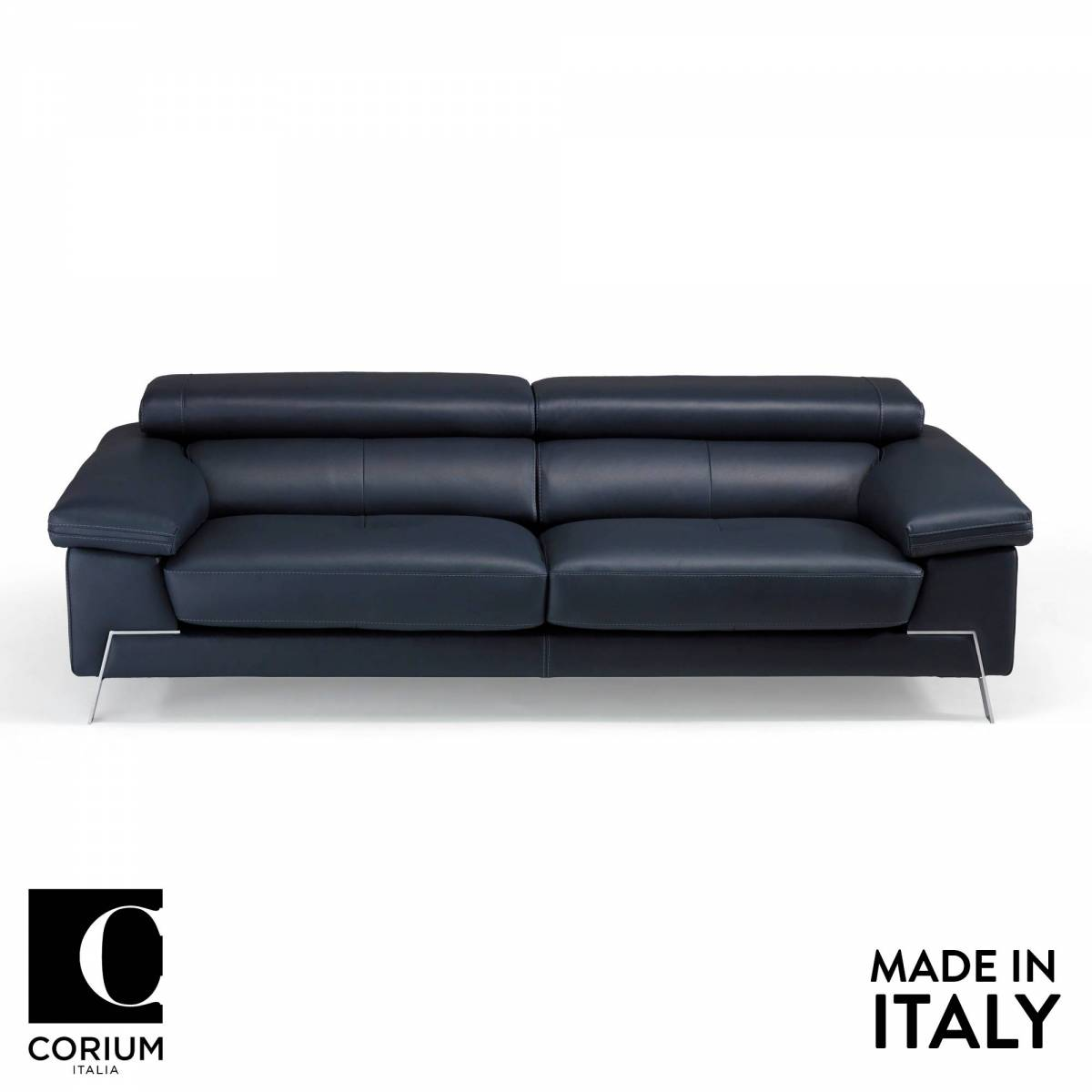 Blunote Italian Leather Sofa By Corium Italia Om Furniture