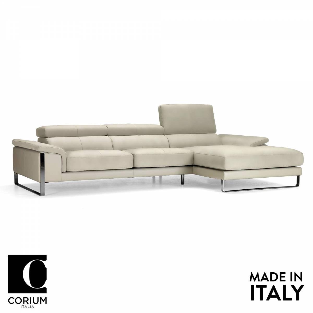 Om furniture newport leather sofa from corium italia