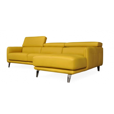 Palladium Leather Sofa