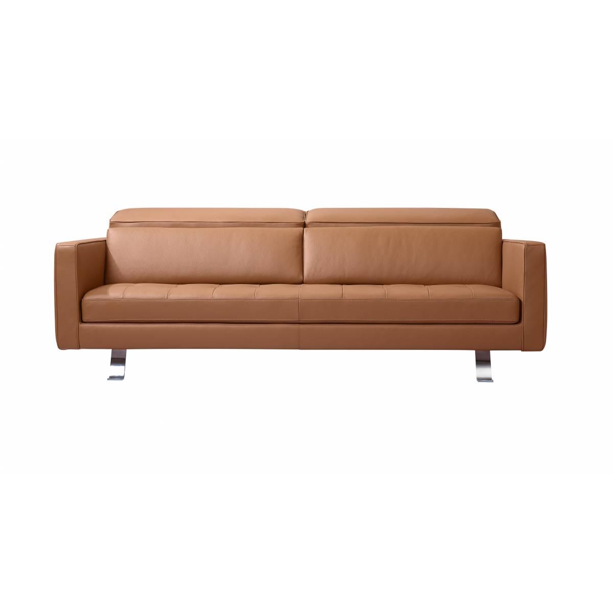 Sorano II Leather Sofa