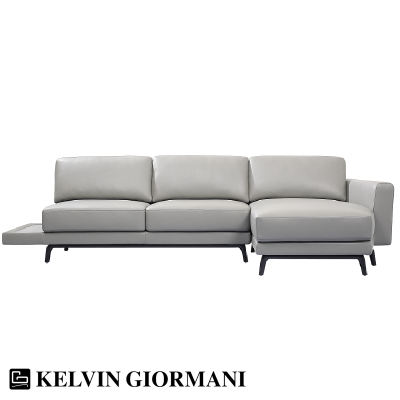 Greg Leather Sofa