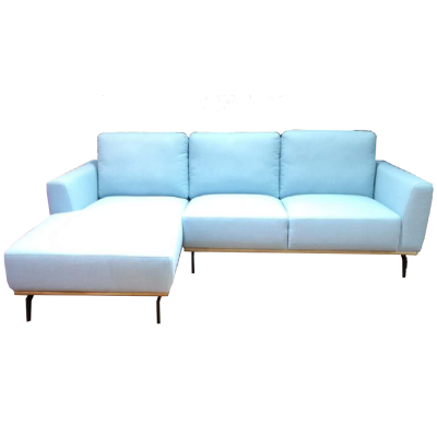 Veronica 2.63m L-shaped Fabric Sofa
