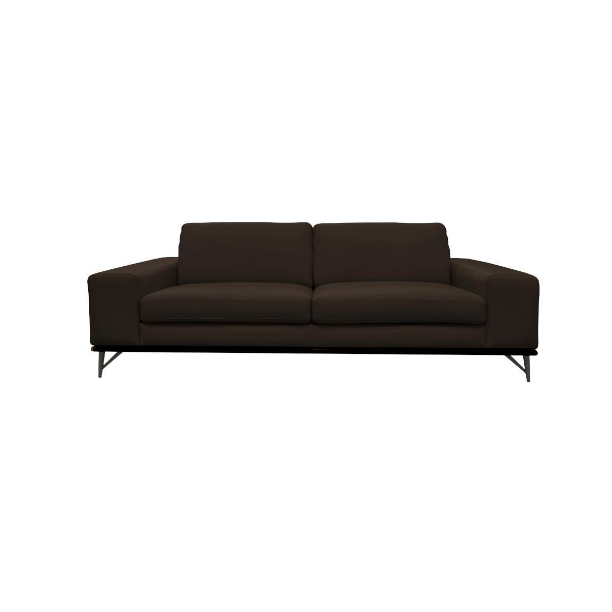 Yanko Full Leather 3-Seater