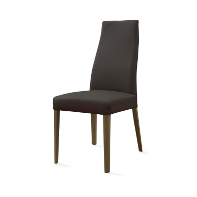Yoga Leather Dining Chair