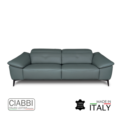 Iago Full Leather 3.5 Seater Sofa