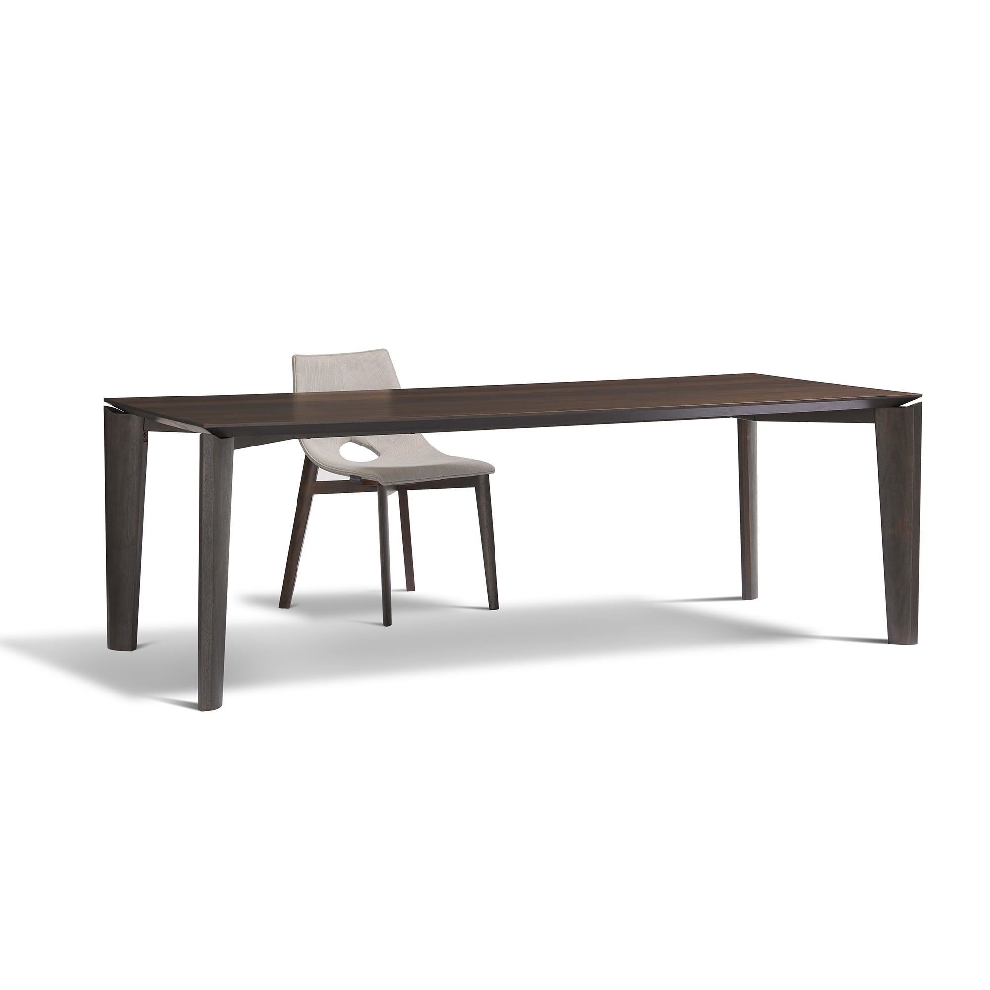 Tiffany Solid Wood Dining Table By Mario Mazzer Om Furniture