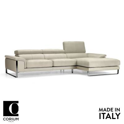 Newport Leather Sofa