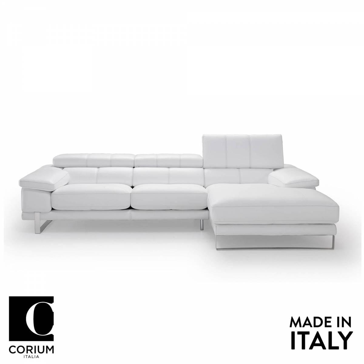 Dado Leather Sofa