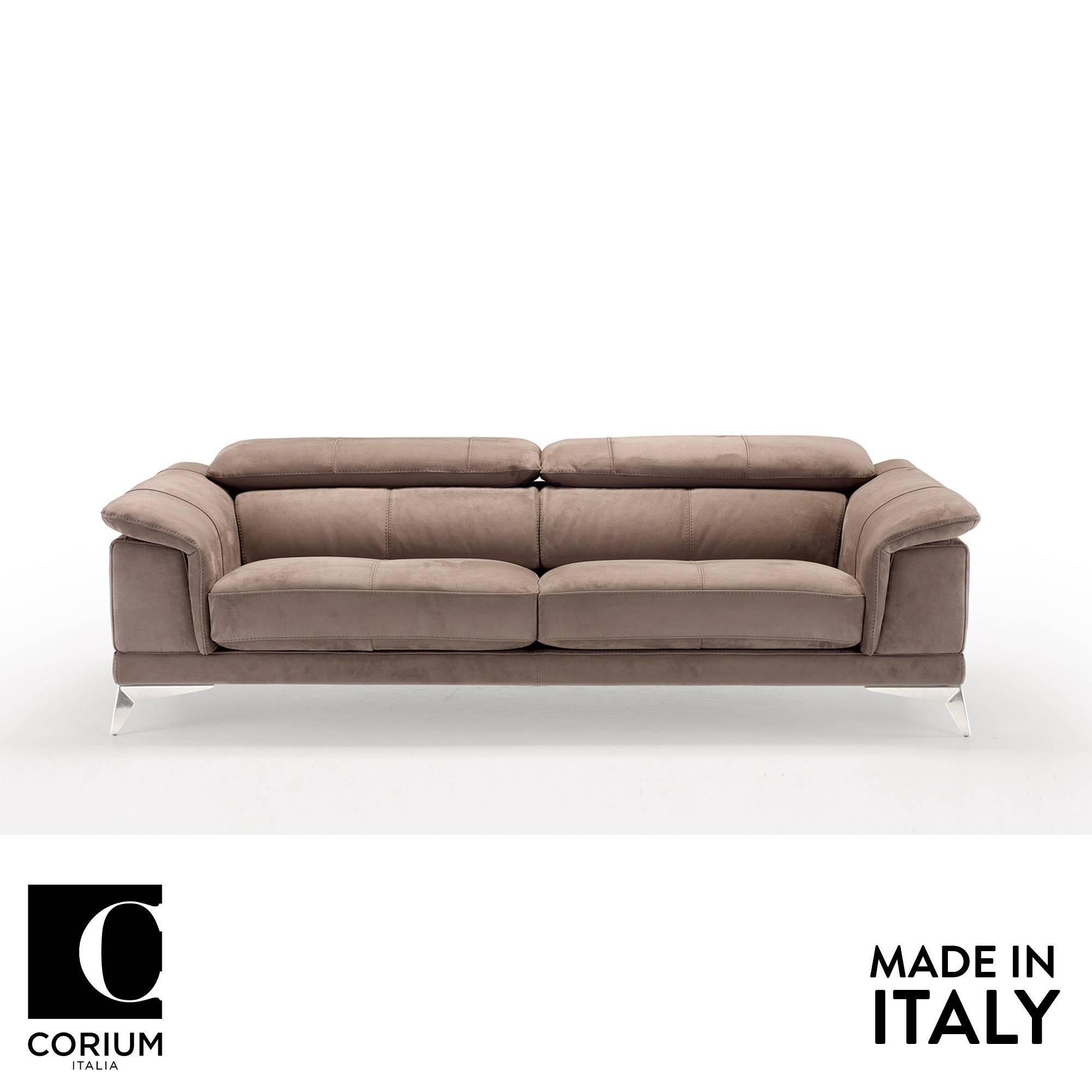 Praga Leather Sofa by Corium Italia