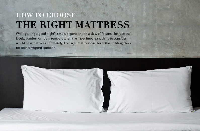 How to Choose the Right Mattress for Your Family